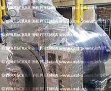 Дизельный паровой котел URAL-POWER UPD-700 для восстановления шин