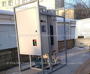 промышленный электрический парогенератор UPE-50 для пивоварни