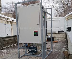 Промышленный электрический парогенератор UPE-50 50 кг пара