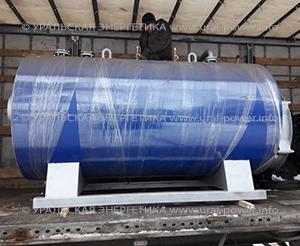 Паровой котел газовый UPG-1000 производительностью до 1000 кг пара в час