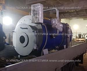 газовый паровой котел UPG-2000 для комбикормового завода
