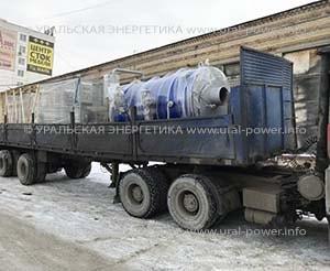 паровой котел газовый UPG-2500 для экстракции масла