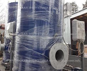 Мазутный парогенератор UPG-400 производительностью 400 кг пара в час