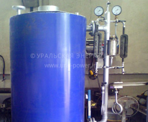 паровой котел газовый UPG-500