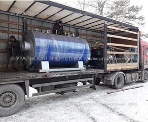 паровой котел на дизеле UPD-1600 для консервного завода