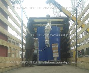 газовый парогенератор UPG-1000 для пивоварни
