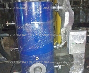 Парогенератор на газе UPG-300 производительностью до 300 кг пара в час